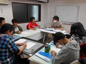 斉学舎 英語授業